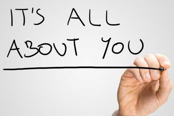 "Personalisation: ""It's All About YOU"""