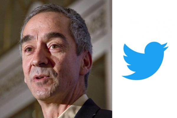 Twitter names former Google CFO Patrick Pichette as chairman