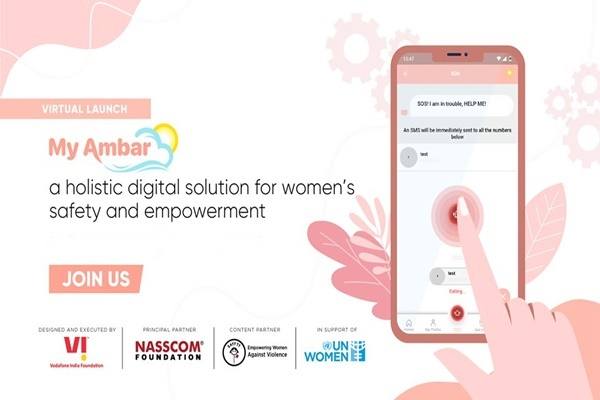 Vodafone Idea, NASSCOM Foundation Launch Women Safety App