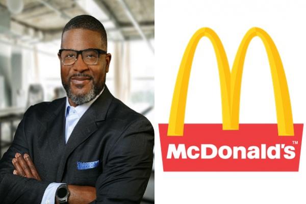 McDonald's ropes in Reginald Miller as Diversity Chief