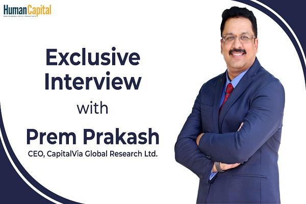 Exclusive Interview with CapitalVia's Prem Prakash